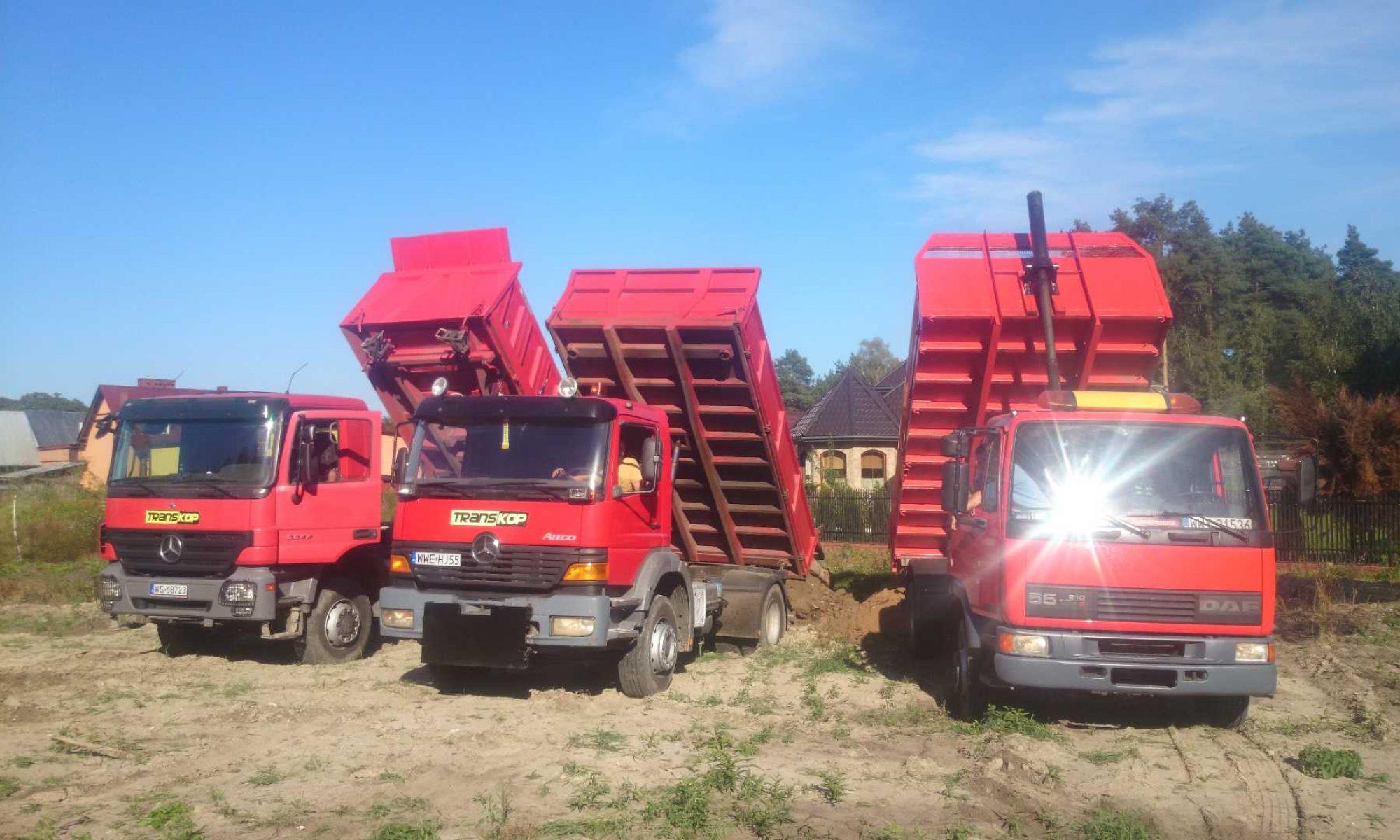 Transkop - usługi budowlane, roboty ziemne